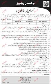 drivers deputy drivers and assistant driver job in railway  drivers deputy drivers and assistant driver job in railway