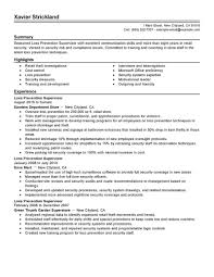 loss prevention resume getessay biz 10 images of loss prevention resume loss prevention supervisor examples law enforcement