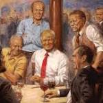 Trump Loves This Painting With Past Presidents, Artist Says