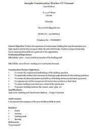 construction worker cv jpgconstruction worker resume template