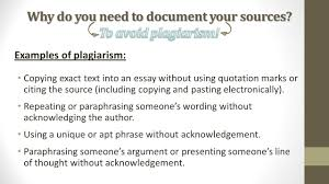 citing your sources quotations paraphrasing copyright acirc copy by examples of plagiarism copying exact text into an essay out using quotation marks or citing