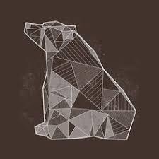 Geometric <b>Bear</b> Print | Рисунок на <b>футболке</b> | Рисунок на ...