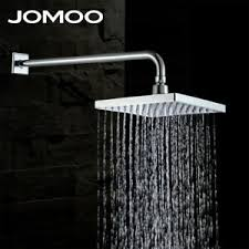 "JOMOO <b>Rainfall</b> Bathroom Top Sprayer <b>Chrome Finish</b> 9"" Square ..."