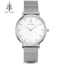 KING HOON <b>New Fashion Watch</b> Women Luxury Stainless Steel ...