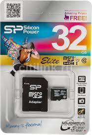 Купить <b>Карта памяти</b> microSDHC UHS-I <b>SILICON</b> POWER 32 ГБ в ...