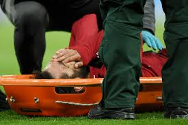 Mo Salah carted <b>off</b> the field