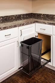 kitchen sink pull trash image