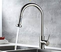<b>Kitchen</b> Faucet 304 Stainless Steel Square <b>360 Degree Rotation</b> hot ...