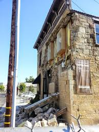 american canyon south napa earthquake emergency response brandow this is the result of out of plane perpendicular to the wall seismic loads on a stone wall portions of the entire wall above the second floor peeled off