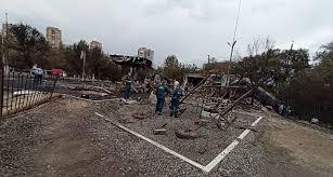 Руины <b>заправки</b> после взрыва в Волгограде изучили следователи