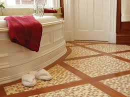 ceramic tile for bathroom floors: stone tile bathroom floors sp tub and floor sxjpgrendhgtvcom stone tile bathroom floors