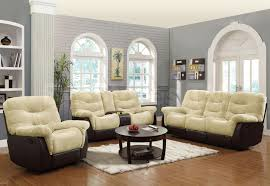 cream couch living room ideas: living room decoration amazing  pcs living set with cream sofa and round glubdubs