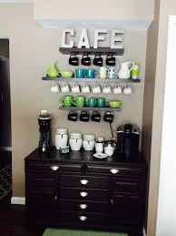 my coffee bar made from garage sale finds diy projects and some attractive coffee bar home 4