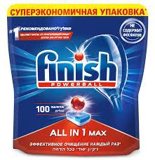 Купить <b>Таблетки Finish</b> All in One Max (упак.:100шт) (<b>3065326</b>) в ...