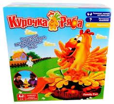 Настольная игра <b>Family Fun Курочка Ряба</b> — купить по выгодной ...