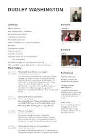 personal trainer resume samples   visualcv resume samples databasepersonal trainer fitness manager  resume samples