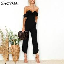 Buy jumpsuit ruffle and get free shipping on AliExpress.com