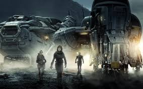 The crew of the Prometheus.