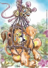 Resultado de imagem para figuras da fábula o leão e o ratinho