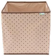 Купить <b>HOMSU Коробка-куб для</b> хранения вещей бежевый по ...