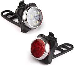 Ascher USB Rechargeable Bike Light Set, Super ... - Amazon.com