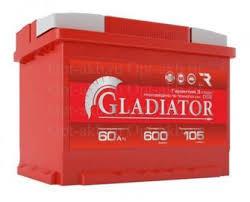 Купить Аккумуляторы: Аккумулятор <b>GLADIATOR 6СТ</b>-<b>60L</b> пп 60 Ач ...