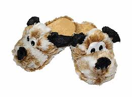 Infispace® Plush <b>Puppy Dog Home Slippers</b>: Amazon.in: Clothing ...