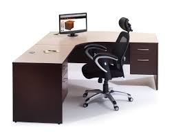 brown l shaped desk buy home office furniture give