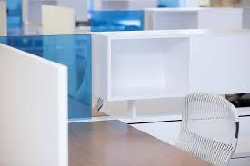 blue glass office desk separator blue glass top modern office