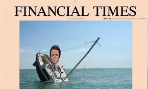 Risultati immagini per financial times finita la fortuna di renzi