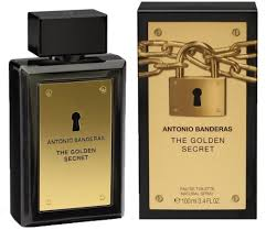 <b>Antonio Banderas</b> The <b>Golden Secret</b> EdT 100ml in duty-free at ...