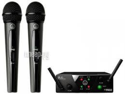 <b>Радиосистема AKG WMS40 Mini</b> 2 Vocal Set US25B/D