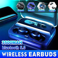 <b>A13 TWS</b> Bluetooth Sports Headphones Fingerprint <b>Touch</b> HD ...