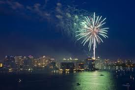 Sarasota Bay Fireworks