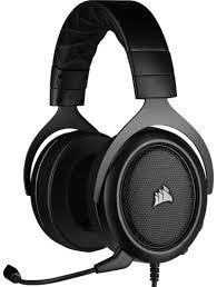 Игровые <b>наушники Corsair Gaming HS50</b> Pro Stereo Carbon (CA ...