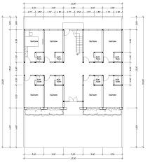 Boarding House Plans st floor plan