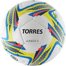 <b>Мяч футбольный Torres Junior-4</b> купить в Москве — интернет ...