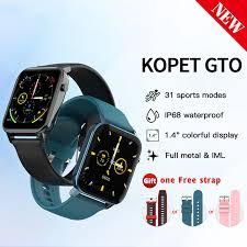 "<b>KOSPET GTO</b> IP68 Waterproof <b>Smart</b> Watch 1.4"" TFT Screen Heart ..."