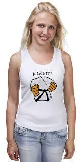 Майка классическая Карате <b>кимоно</b> ги Karate #906858 от Combat ...