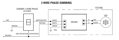 reverse phase dimming solutions usai 2 wire phase dimming diagram