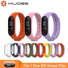 <b>Mijobs Mi Band</b> 3 Strap <b>for</b> Xiaomi <b>Mi Band 4</b> 3 Bracelet Silicone ...