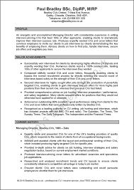 manager cv sample by bradley cvs ukmanager cv sample page