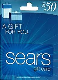 Sears Blue $50 Gift Card: Gift Cards - Amazon.com
