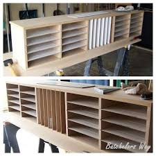 How To Build An Office Paper Sorter  Batchelors Way  Wood Crafts Pinterest Crafting Bobs And My Scrapbook