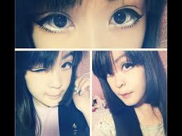 how to get big anime eyes without circle lens or falsies