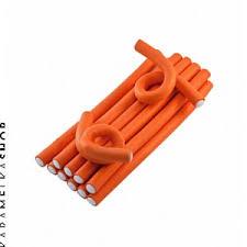 SIBEL <b>Бигуди</b>-<b>бумеранги 17 мм</b> 25см <b>оранжевые</b>, 12шт купить по ...
