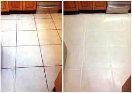 clean grout kitchen