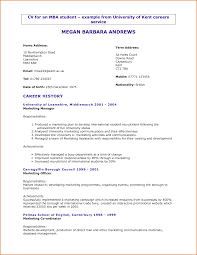 resume examples for university students resume builder