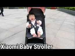 <b>Коляска Xiaomi MITU Baby</b> Folding Stroller - YouTube
