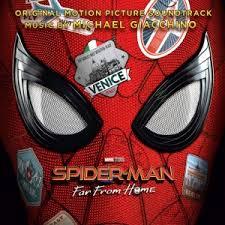 Soundtrack. Michael Giacchino: <b>Spider</b>-<b>Man</b> - <b>Far</b> From Home (CD ...